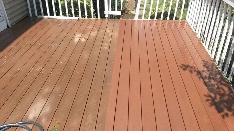 Composite deck maintenance