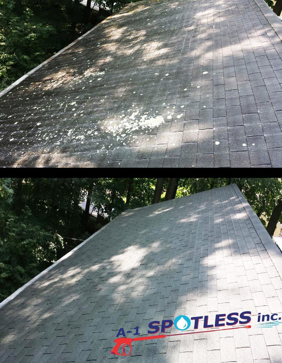 Soft Wash Roof Cleaning Nj Middlesex Somerset Union A 1