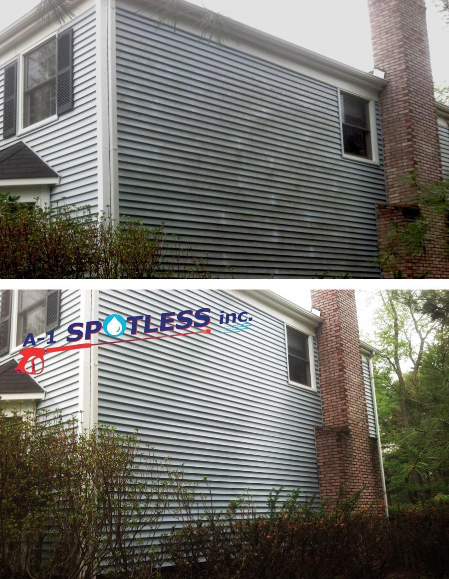 Power Wash Cleaning Vinyl Siding Nj Middlesex Somerset